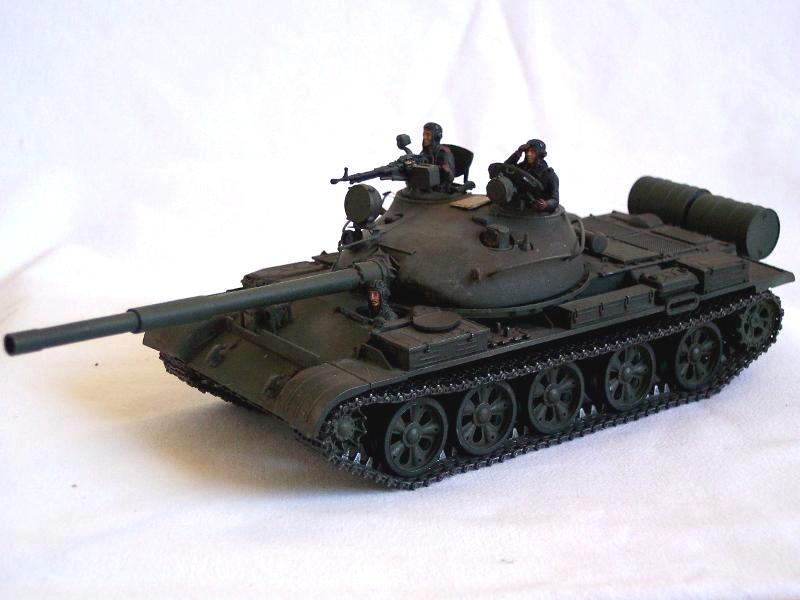 T-62 tamiya + fig zvezda 1:35 montage: FINI  T62_01